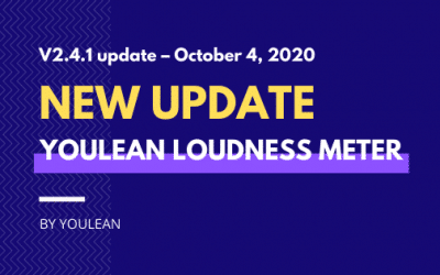 Youlean Loudness Meter – V2.4.1 update – October 4. 2020