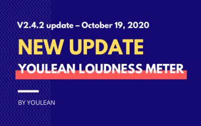 Youlean Loudness Meter – V2.4.2 update – October 19. 2020